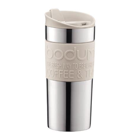 TRAVEL MUG   Vacuum travel mug, small, 0.35 l, 12 oz, s/s Off white   Bodum Online Shop   United