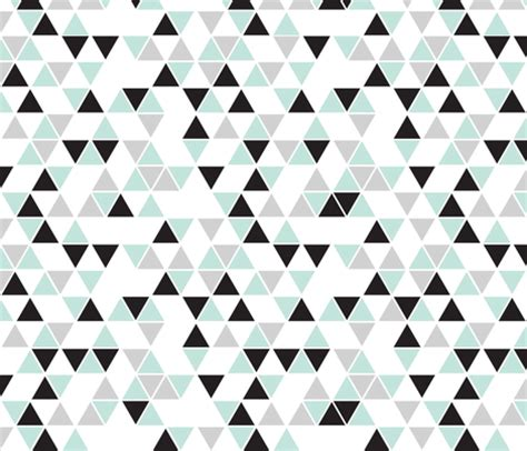 wallpaper grey and mint white background mint black gray triangles fabric