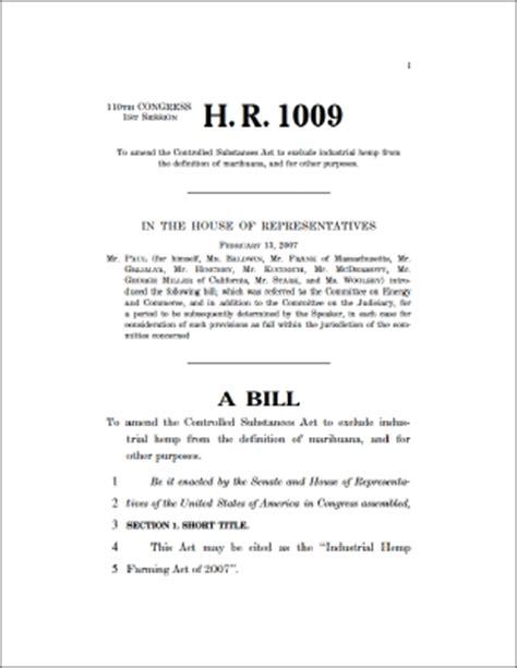 legislative bill template cannabis invest h r 1009 introduced in congress bill