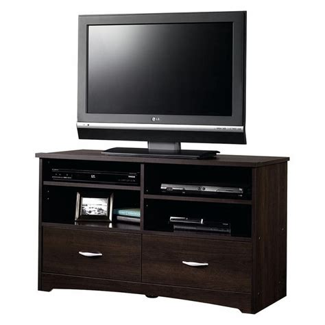 modern tv stand media entertainment center home theater cabinet wood furniture ebay