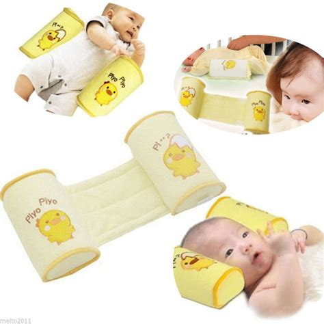 Baby Sleep Pillow Positioner by Baby Infant Newborn Sleep Positioner Prevent Flat Shape Anti Roll Pillow