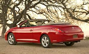 Convertible Toyota Solara Car And Driver
