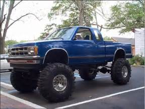 chevy s10 all jacked up anything with mud or an