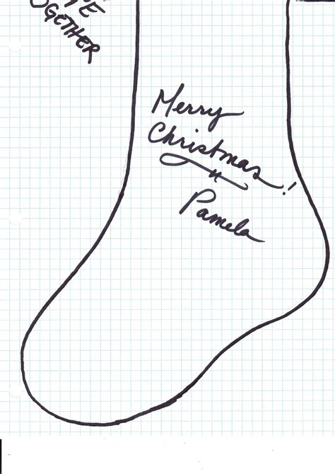 free pattern for primitive christmas stocking 17 best images about free printables on pinterest