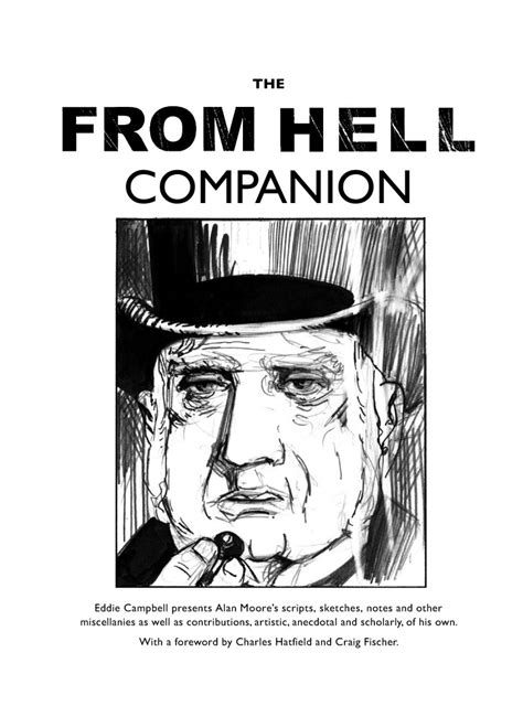 from hell companion the top shelf announces the from hell companion from alan moore and eddie cbell