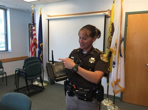 Cumberland County Sheriff Office by Maine Sheriff Adds Robot Deputy Rosie To