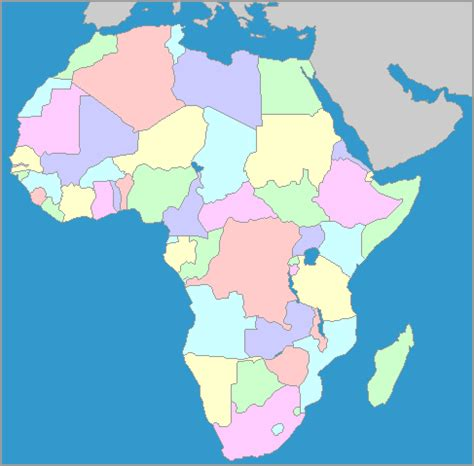 map of africa with country name africa other maps