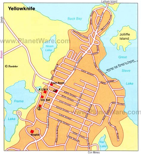 printable map of yellowknife map of canada mountains rivers and lakes planetware