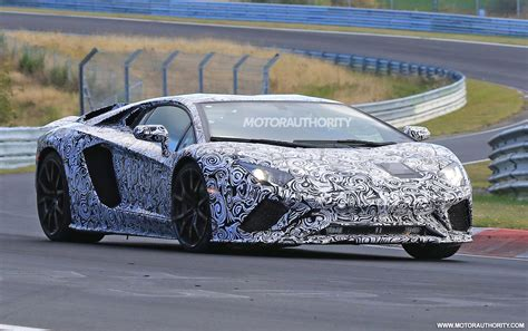 lamborghini 2018 aventador 2018 lamborghini aventador spy shots and video