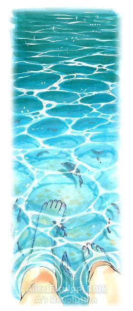 how to color water 25 best ideas about water drawing on