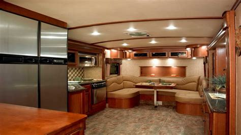 5th Wheel With Living Room In Front | front living room 5th wheel style cabinet hardware room