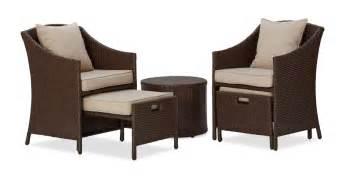 Strathwood Patio Furniture by Strathwood Garden Furniture Basics All Weather Wicker
