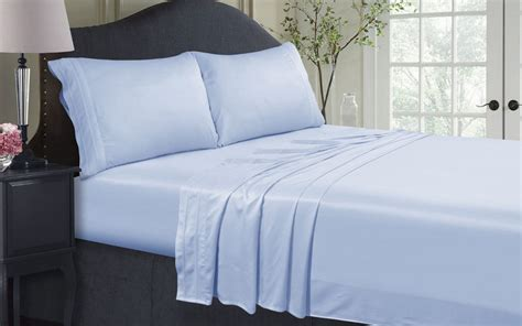 sateen bed sheets egyptian cotton sheets vs sateen sheets overstock com