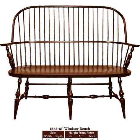 Handmade Furniture New - this amish new style bench furniture oak with