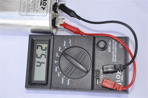 pf capacitor tester portable digital capacitor tester wide range pf to 30 mf