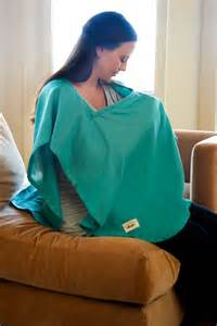 giveaway nursing cover and bib from poncho baby project