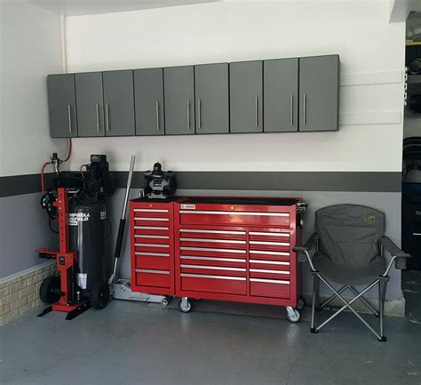 garage storage wall cabinets car garage three three door garage storage wall