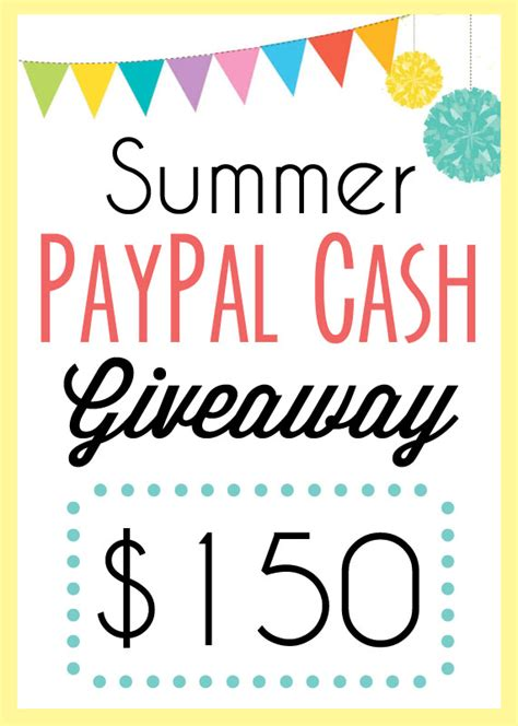 Great Cash Giveaway - summer paypal cash giveaway homemade ginger