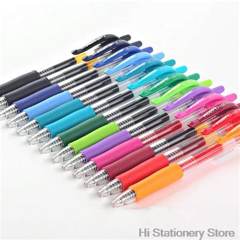 Press Gel Pen 0 5mm pilot g2 retractable premium color gel ink roller pen