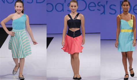 11 year old designer noa sorrell makes runway debut see this 11 year old cancer patient just debuted her first