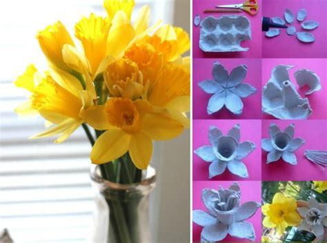 Basteln Mit Eierkarton Blumen by Basteln Mit Eierkarton Ideen Anleitungen F 252 R Bl 252 Ten