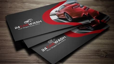 Free Car Business Card Templates by 22 Car Wash Flyer Templates Free Psd Ai Eps Format