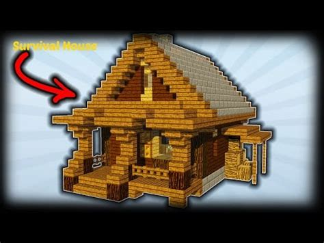 how to build a building minecraft how to build a survival house starter house