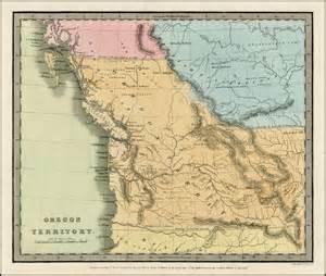 map of oregon territory oregon territory barry ruderman antique maps inc