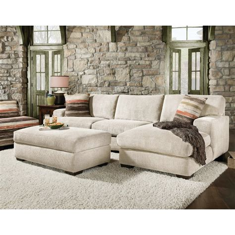 sofa ottoman chaise sectional sofa with chaise and ottoman cleanupflorida com