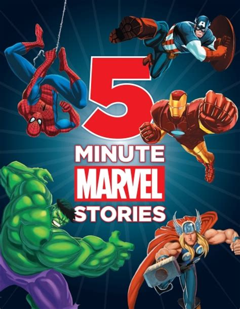5 minute marvel stories 5 minute stories the store 5 minute marvel stories book