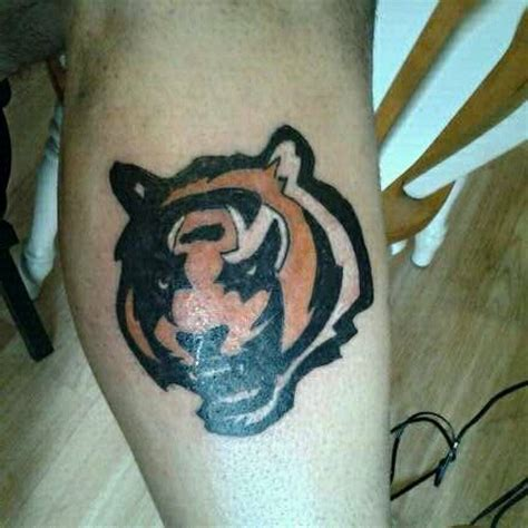 tattoo cincinnati 7 best cincinnati bengals tattoos images on