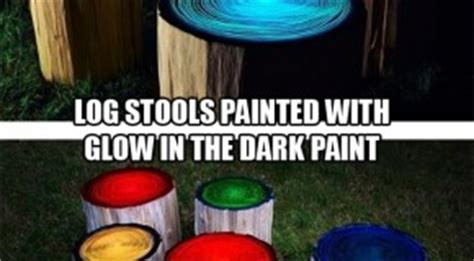 glow in the painted logs simple do it yourself craft ideas 42 pics archives