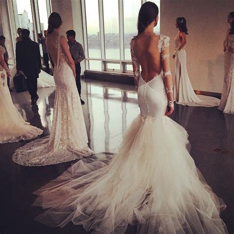 Best Instagram Shots of 2015 Bridal Fashion Week