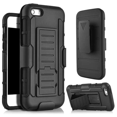 Stand Holster Belt Clip Iphone 5 5s Se Armor Future for iphone se 3 in 1 future armor belt clip holster stand for coque iphone 6 4s 5 5s