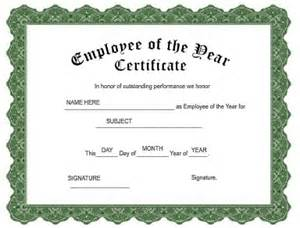 Employee Of The Year Certificate Template Free by Make Custom Awards With Iclicknprint Personalize And
