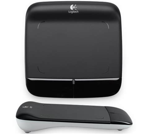 Touchpad Logitech logitech wireless touchpad brings multitouch to your normal pc technabob