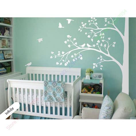 ᗔ2017 new white tree wall wall decal corner tree wall ᐃ