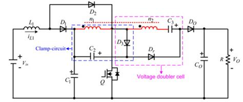 coupled inductor inductance year power electronics projects a high voltage gain dc dc converter integrating coupled