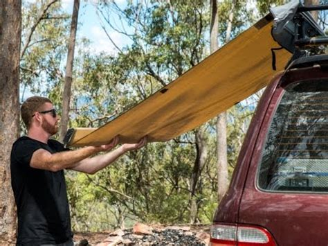 ridge ryder awning review ridge ryder led 4wd awning shade 2 5 x 2 0m supercheap