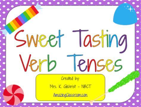 printable games for verb tenses sweet tasting verb tenses game printable worksheet with