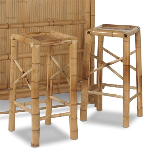 Bamboo Bar Stools Chairs by Additional Bamboo Bar Stools Hammacher Schlemmer