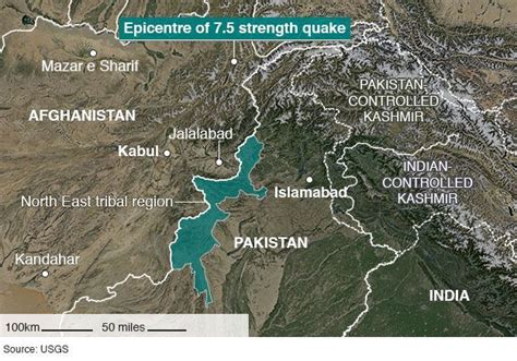 usgs projects in afghanistan 187 earthquake hazards emss powerful 7 5 earthquake rocks northern afghanistan