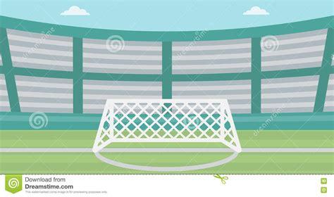 layout of vector arena background of soccer stadium stock vector image 72671354