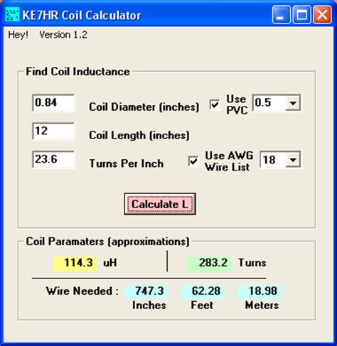 toroid inductor calculator software ferrite inductor software