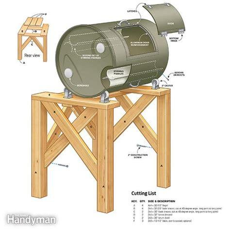 diy compost barrel tumbler compost tumbler diy compost