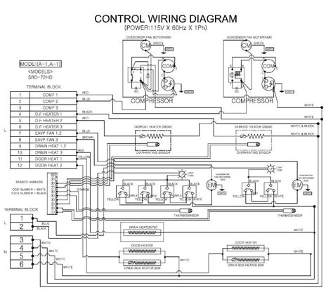 amana refrigerator wiring diagram wiring diagram and