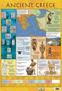ancient greece educational children s timeline and map