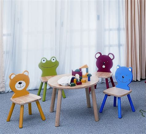 pintoy chair children s wooden chimpanzee monkey chair by pintoy 60