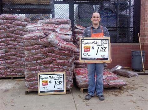 total avings home depot cheap charcoal and mulch