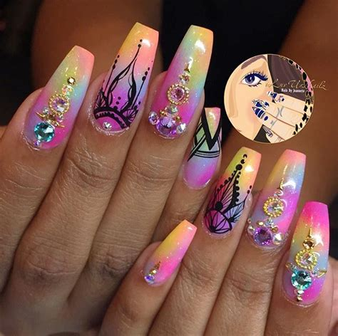 bright color nail designs best 25 nail designs ideas on bright